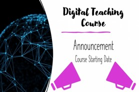 digital teaching course starting date