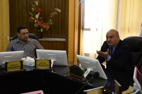 Dr. Hayder Abed Dhahad  met with representatives of e-Learning in all departments