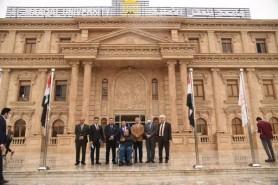 الفريق الوزاري للتعليم الالكتروني يزور جامعة المعقل في البصرة